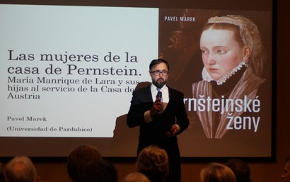 Pavel Marek en el Instituto Cervantes de Praga